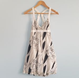 Hurley white summer sundress with POCKETS